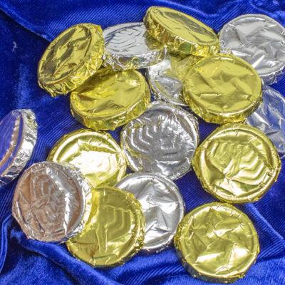8 Piece Bag of Gelt