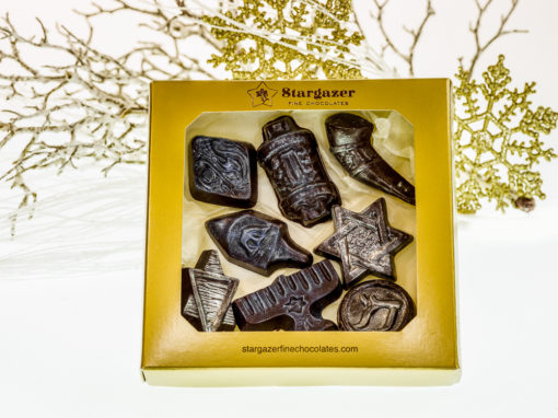 Hannukah chocolate set