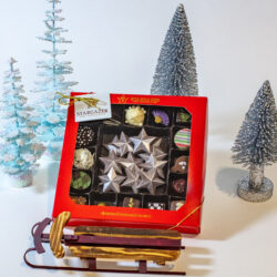 Christmas Sled with Truffles