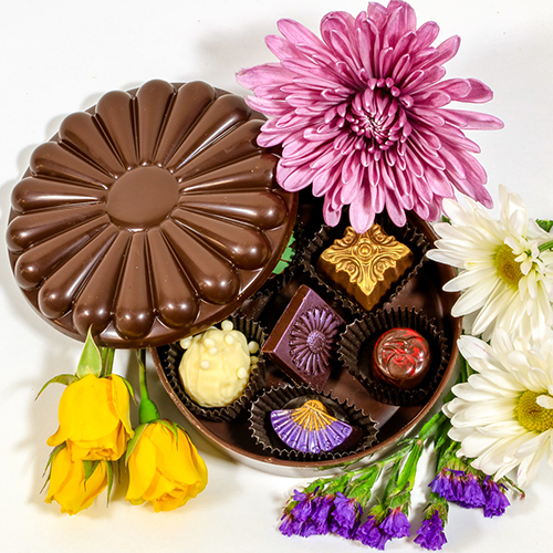 Flower-Chocolate-Box