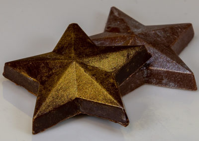 SOLID CHOCOLATE STAR