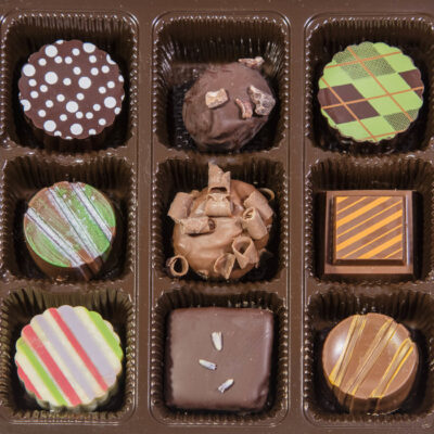 9 Assorted Truffles Item 013
